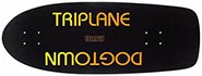 DOGTOWN JIM MUIR TRIPLANE REISSUE BLACK YORKITE/NEON ORANGE DECK 11X30.25