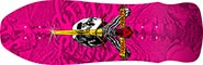 POWELL GEEGAH SKULL AND SWORD RE-ISSUE DECK 9.75 X 30.00