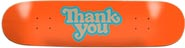 THANK YOU TEAM LOGO ORANGE DECK 7.75