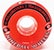 SECTOR 9 NINEBALL RED 61MM 78A (Set of 4)