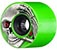 POWELL KEVIN REIMER GREEN/BLACK CORE WHEEL 72MM 75A (Set of 4) (LIMIT 1)