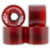 DOGTOWN MINI CRUISER RED WHEELS 59MM 84A (Set of 4)