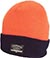 FOURSTAR 2 TONE FOLD BEANIE ORANGE