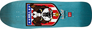 POWELL FRANKIE HILL BULL DOG BLUE RE-ISSUE DECK 10.00