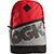 DGK DOWNTOWN ANGLE DELUXE RED BACKPACK