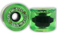 CLOUD RIDE WHEELS CRUISER TRANSLUCENT NEON GREEN 69MM 78A (Set of 4)