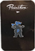 PRIMITIVE X GRIZZLY MASCOT LAPEL PIN