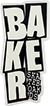 BAKER STACKED HOLIDAT 17  STICKER