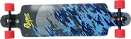 RAYNE DEMONSEED WAVE CAMO DROP THROUGH/DROP DOWN COMPLETE  9.76 X 39