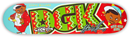 DGK WILLIAMS DEE GEE KIDS DECK 7.90