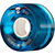 POWELL CLEAR BLUE CRUISER WHEEL 55MM 80A (Set of 4)