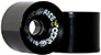 CLOUD RIDE WHEELS CRUISER BLACK 69MM 78A (Set of 4)
