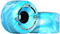 CLOUD RIDE WHEELS CRUISER MARBLED TEAL AND WHITE 65MM 78A (Set of 4)