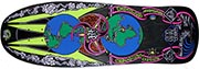 PRIME / WORLD INDUSTRIES JEF HARTSEL GLOBES OLD SCHOOL SHAPE SCREEN PRINTED DECK 10.0