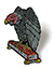 BLACK LABEL VULTURE CURB CLUB ENAMEL PIN