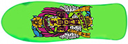 DOGTOWN ERIC DRESSEN RE-ISSUE NEON GREEN DECK 10 X 30.75