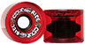 CLOUD RIDE WHEELS CRUISER TRANSLUCENT RED 69MM 78A (Set of 4)