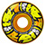 SPITFIRE FORMULA FOUR AFTERBURNER ORANGE/YELLOW CLASSIC 52MM 99D (Set of 4)