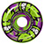 SPITFIRE FORMULA FOUR AFTERBURNER GREEN/PURPLE CLASSIC 53MM 99D (Set of 4)