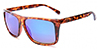 HAPPY HOUR BRAYDON SZAFRANSKI CASINOS TORTOISE MIRROR SHADES SUNGLASSES