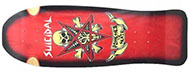 DOGTOWN POSSESSED TO SKATE REISSUE RED/BLACK DECK 10.0 X 30.25