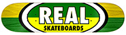 REAL TEAM 50-50 OVALS GREEN/YELLOW DECK 8.50