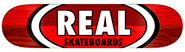 REAL TEAM 50-50 OVALS RED/RED DECK 8.75