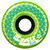 KROOKED ZIP ZINGERS GREEN WHEELS 58MM 80D (Set of 4)