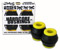 BONES BUSHINGS HARDCORE BLACK MEDIUM