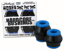 BONES BUSHINGS HARDCORE BLACK SOFT