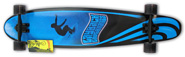 LAYBACK SLOTTED LONGBOARD COMPLETE 9.5 X 42