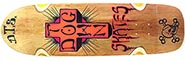 DOGTOWN BIG BOY BROWN STAIN DECK 9.37 X 32.67