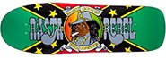 PRIME RANDY COLVIN RASTA REBEL JAMAICAN COLORWAY DECK 9.87