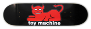 TOY MACHINE TEAM DEVIL CAT DECK 7.62