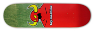 TOY MACHINE TEAM MONSTER LG DECK 8.12