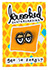 KROOKED EYES GOLD/BLACK LAPEL PIN