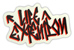 LIFE EXTENTION ROCKER STICKER