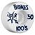 BONES 100S OG V1 50MM (Set of 4)
