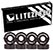 LITEZPEED ABEC 7 BLACK SINGLE SET