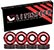 LITEZPEED ABEC 7 RED SINGLE SET
