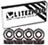 LITEZPEED ABEC 7 WHITE SINGLE SET
