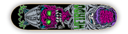 WEIRDO LIVING DEAD PURPLE STREET SERIES DECK 7.87