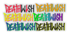 DEATHWISH DEATH SPRAY 3 STICKER