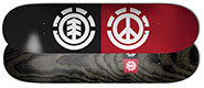 ELEMENT TEAM PEACE LOGO DECK 8.20