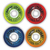 SATORI BRENT ATCHLEY P TOWN PLAYERS MULTI COLOR CRUISER 54MM 78A (Set of 4)