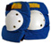 RECTOR OLD SCHOOL PROTECTOR KNEE PADS BLUE L