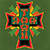 DOGTOWN CROSS LOGO RASTA OLIVE SS L