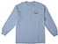 REAL OVAL SMALL POWDER BLUE LS L