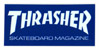 THRASHER MAG LOGO MINI STICKER