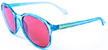 HAPPY HOUR MANHATTAN SPARKLE BLUE SHADES SUNGLASSES